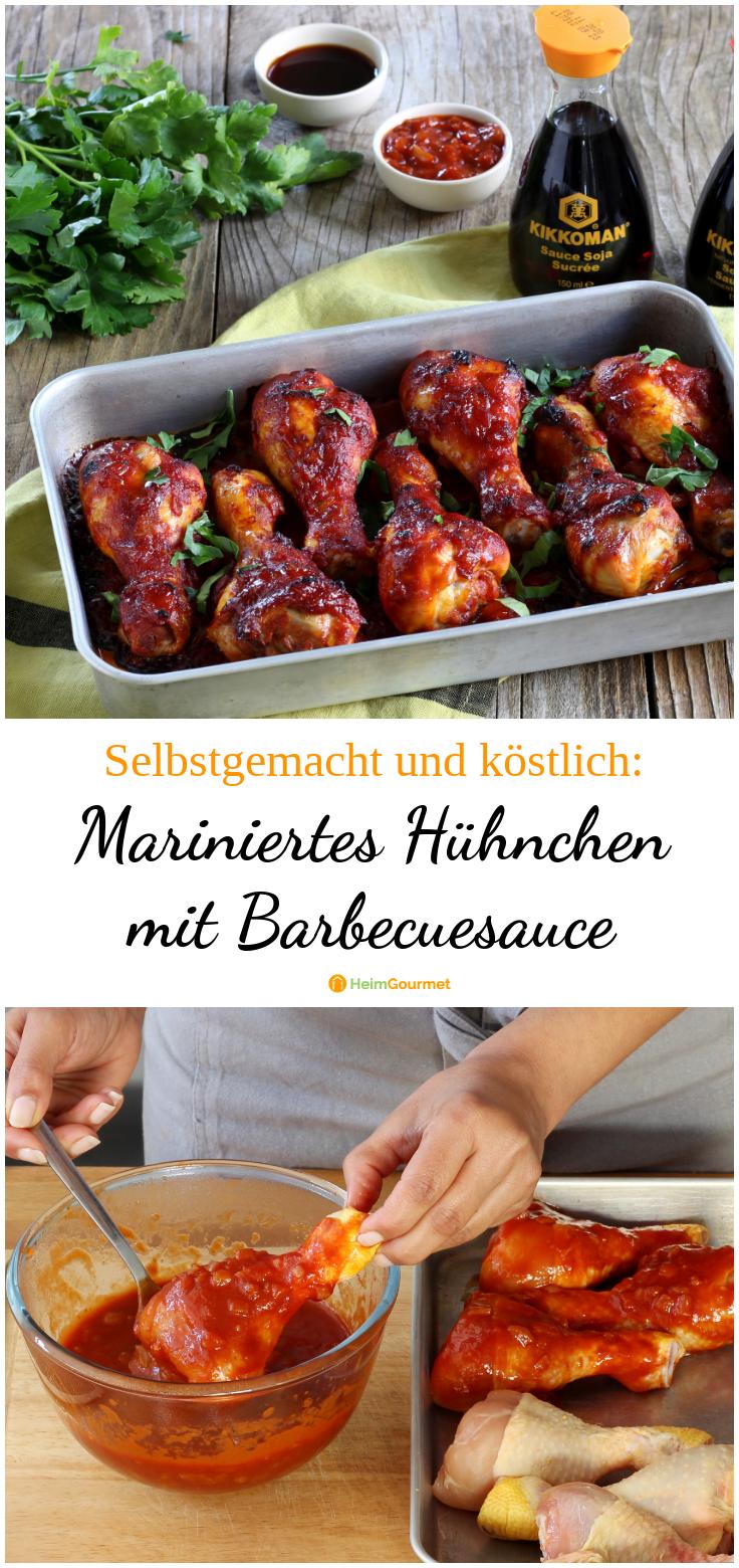 Photo of Mariniertes Hühnchen mit SELBSTGEMACHTER Barbecue-Sauce