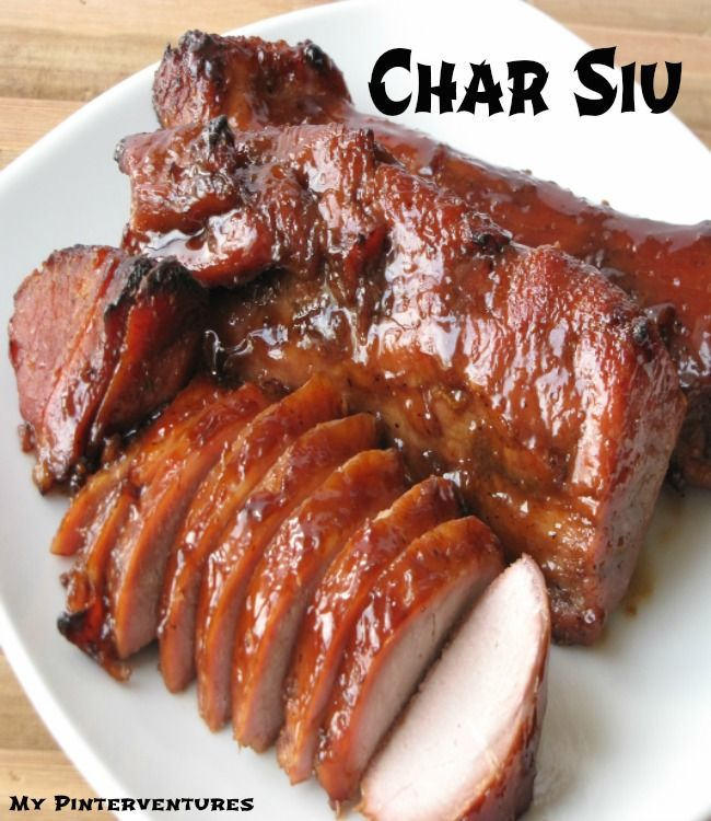 """I realize I've been posting a lot of dessert dishes. Since I don't want you to think I only feed my family desserts (although my kids would love it), I thought I'd share a recipe for char siu or chinese BBQ. Char siu is a Cantonese way of preparing pork and literally means to """"fork-roast"""". …"""