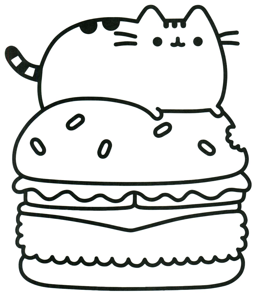 - Pusheen Cat Coloring Pages Cat Coloring Book, Pusheen Coloring