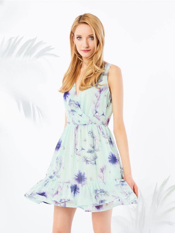 Sukienka Zdobiona Kwiaty Mohito New 32 Xxs Kwiatki 6347695774 Oficjalne Archiwum Allegro Dresses Summer Dresses Fashion