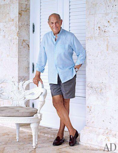 Famous Folk At Home Annette And Oscar De La Renta In The Dominican Republic Fashion Fashion Design American Fashion Designers