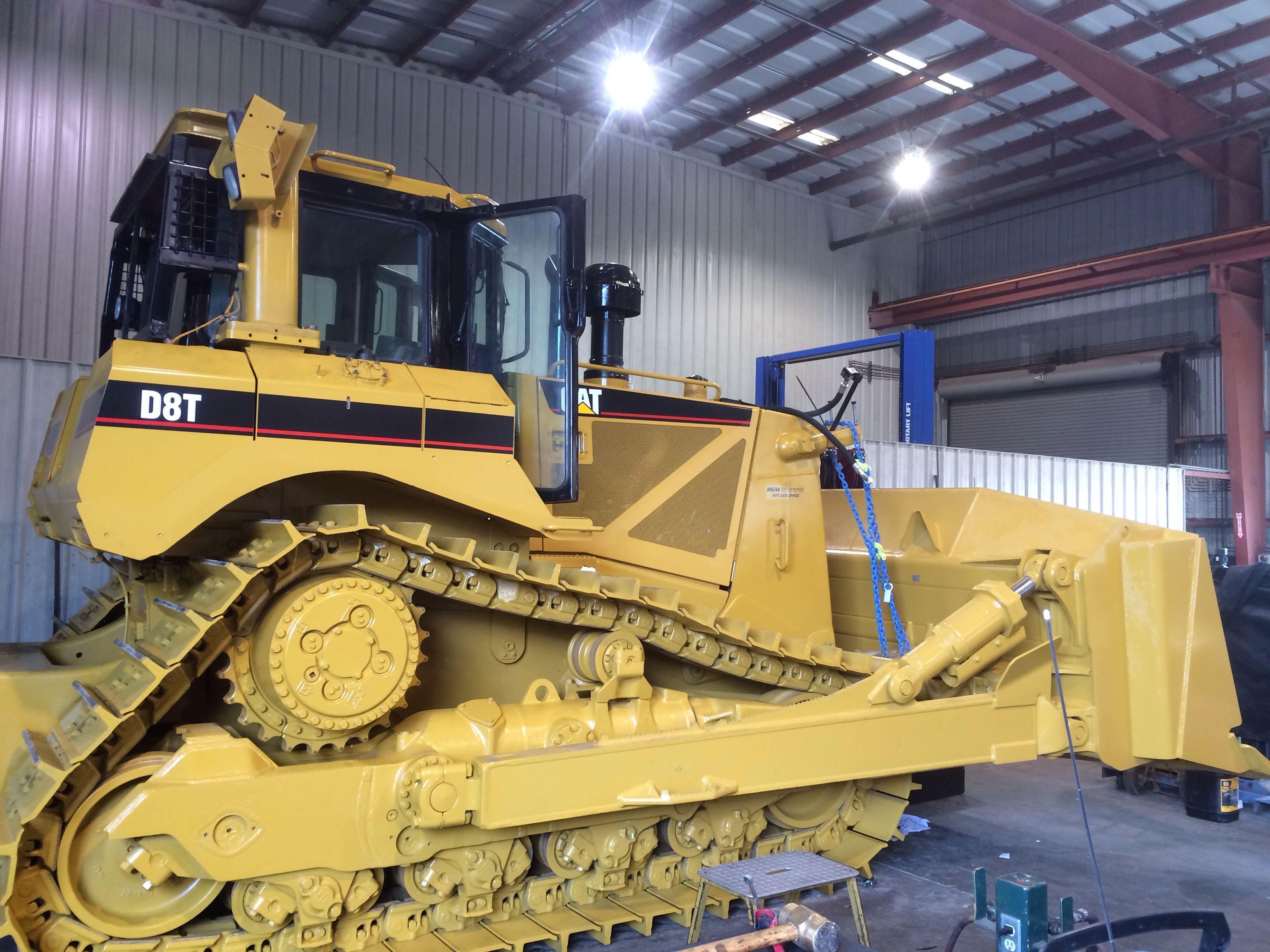 D8t rebuilt at the shop Construction equipment, Heavy