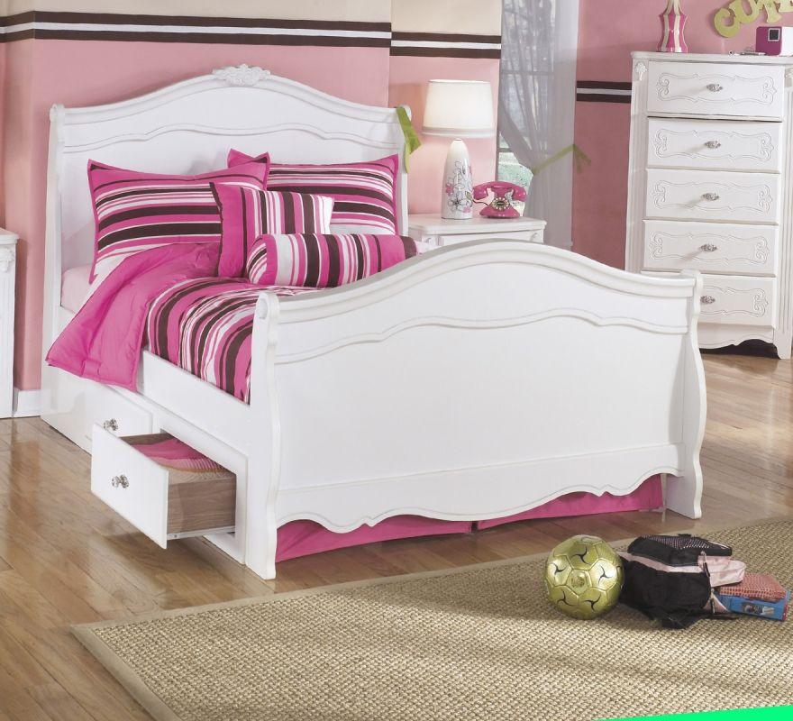 Ashley B188 Exquisite Full Size Sleigh Bed 368 Children S Room