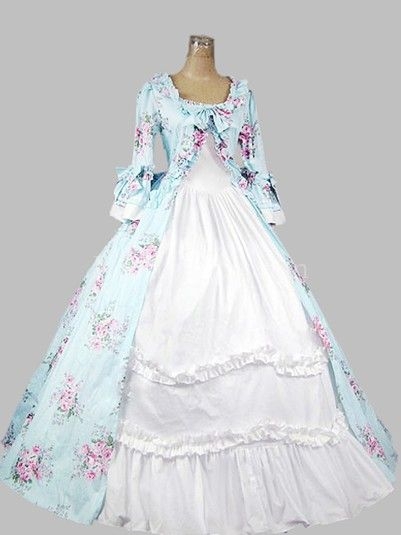 18th Century American Colonial Period Dress Ball Gown Prom Reenactment Clothing Victorian Ball Gowns Southern Belle Dress Civil War Victorian Dress