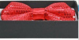 Sequence red Tuxedo Classic Bow Tie, Cravat, Necktie, Neckwear Adjustable Men's Fashion BowTie – ZEBRA  http://www.yourneckties.com/sequence-red-tuxedo-classic-bow-tie-cravat-necktie-neckwear-adjustable-mens-fashion-bowtie-zebra/