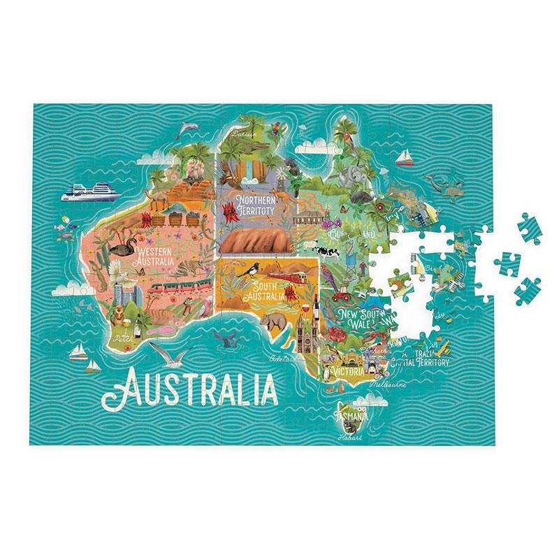 Map Of Australia Jigsaw Puzzle.Australian Map Jigsaw Puzzle 1000 Piece Puzzle This Makes A