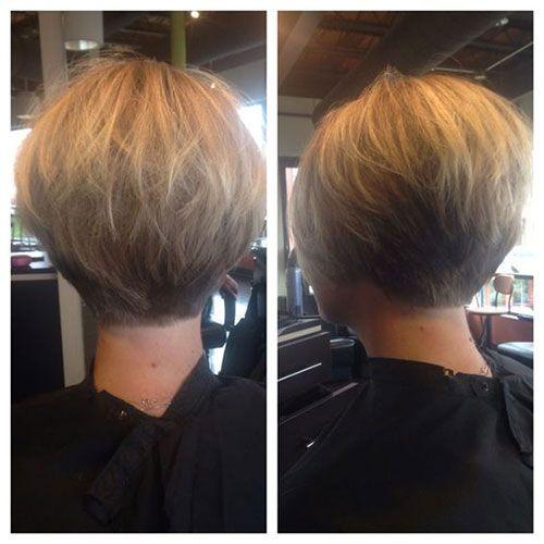 Short Stacked Bob Haircuts Thick Hair Styles Short Stacked Bob Haircuts Short Hair Styles