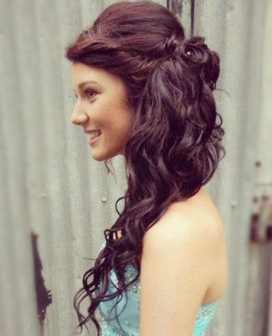 bridesmaid hairstyles for long hair trends 2014