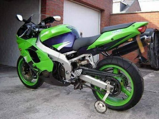 Kawasaki W Training Wheels Lol With Images When You See It