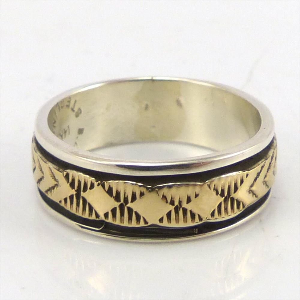 Gold on silver ring products pinterest silver ring and products