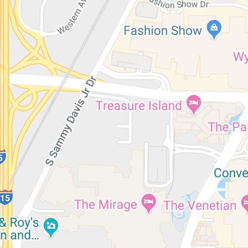 Map Of Hotels Near Linq Las Vegas Las Vegas Nv Hotelguides Com