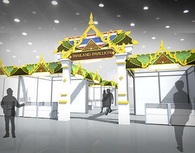 Check Out New Work On My Behance Portfolio Thailand Pavilion