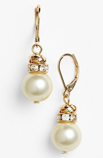 Nordstrom Faux Pearl Drop Earrings Available At