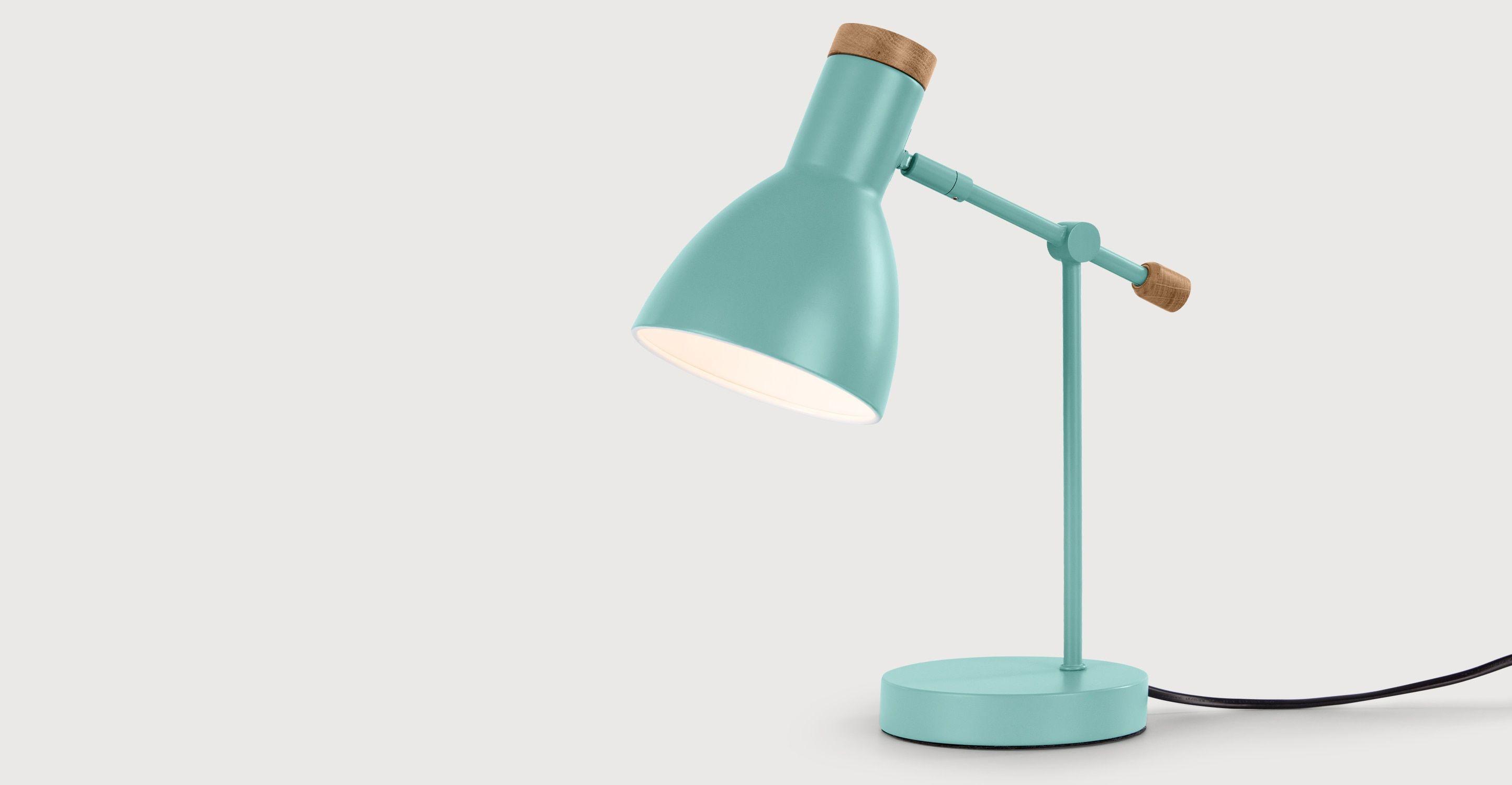 Cohen Une Lampe De Chevet Vert Et Chene Chevet Vert Et Chambres