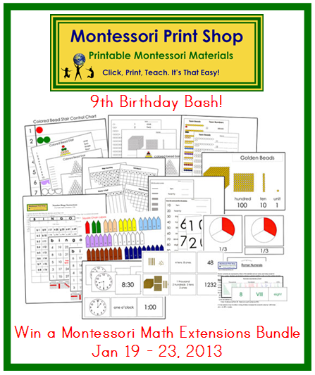 Montessori Math Worksheets & mathematical operations for printable ...