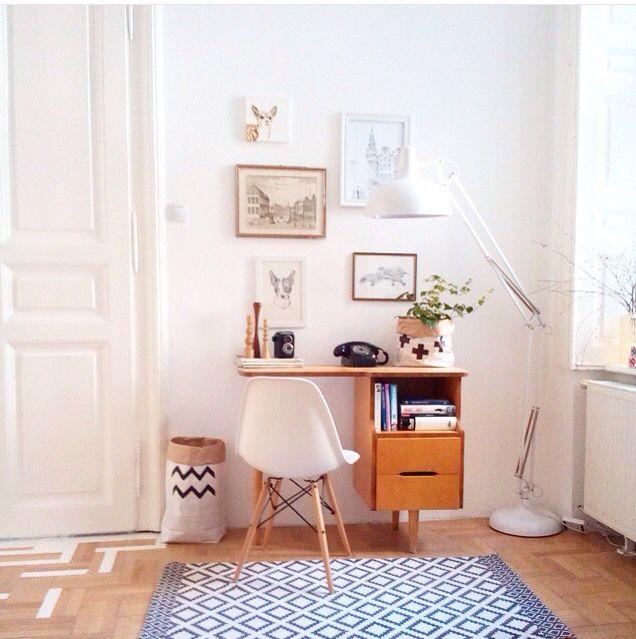 Home Office Decor, Interior, Home