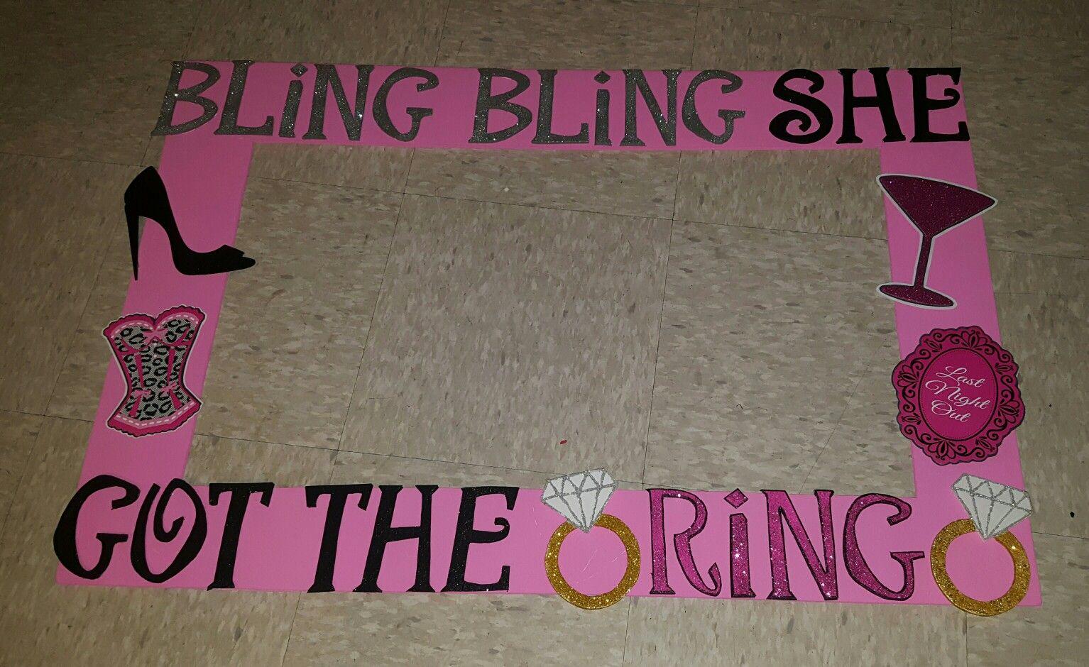 Bling Bling She Got Thering Cuz Rachels Bridal Shower Photo
