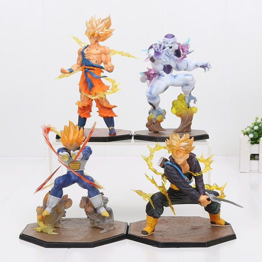 Anime Dragon Ball Z Super Saiyan 2 Vegeta PVC Action Figure Figurine Toy Gift