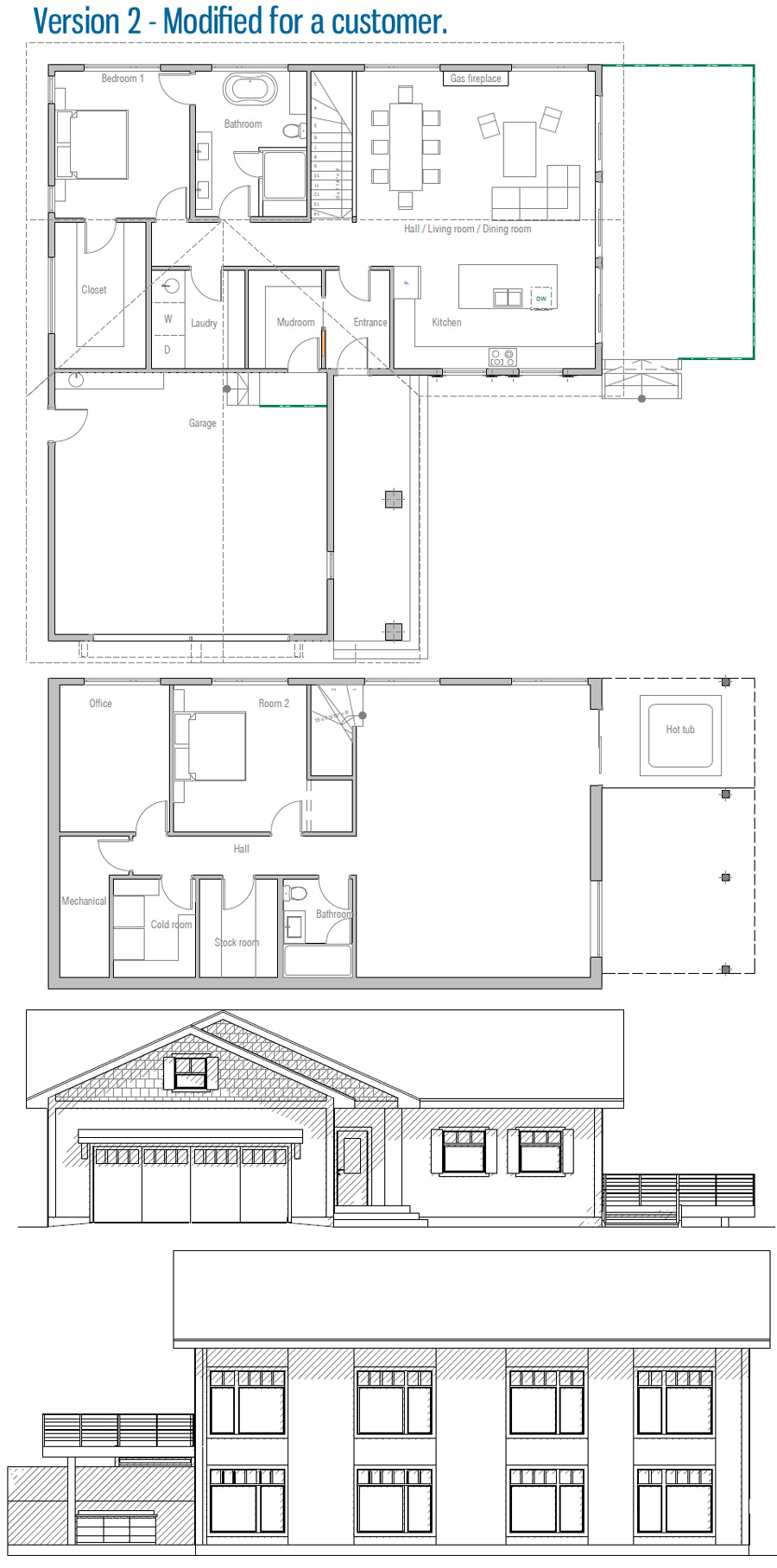 Pin By Sue Archer On Floorplans House Plans Cottage House Exterior How To Plan