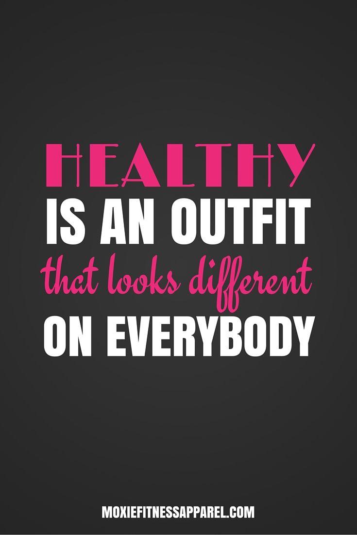 you look healthy