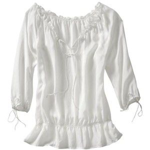 White Peasant Blouse Photo Album - Reikian