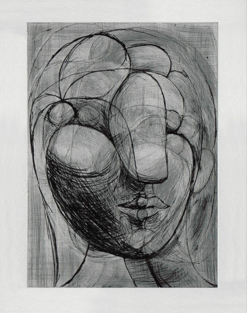 Tête de Marie-Thérèse | Pablo Picasso, Tête de Marie-Thérèse (1933)