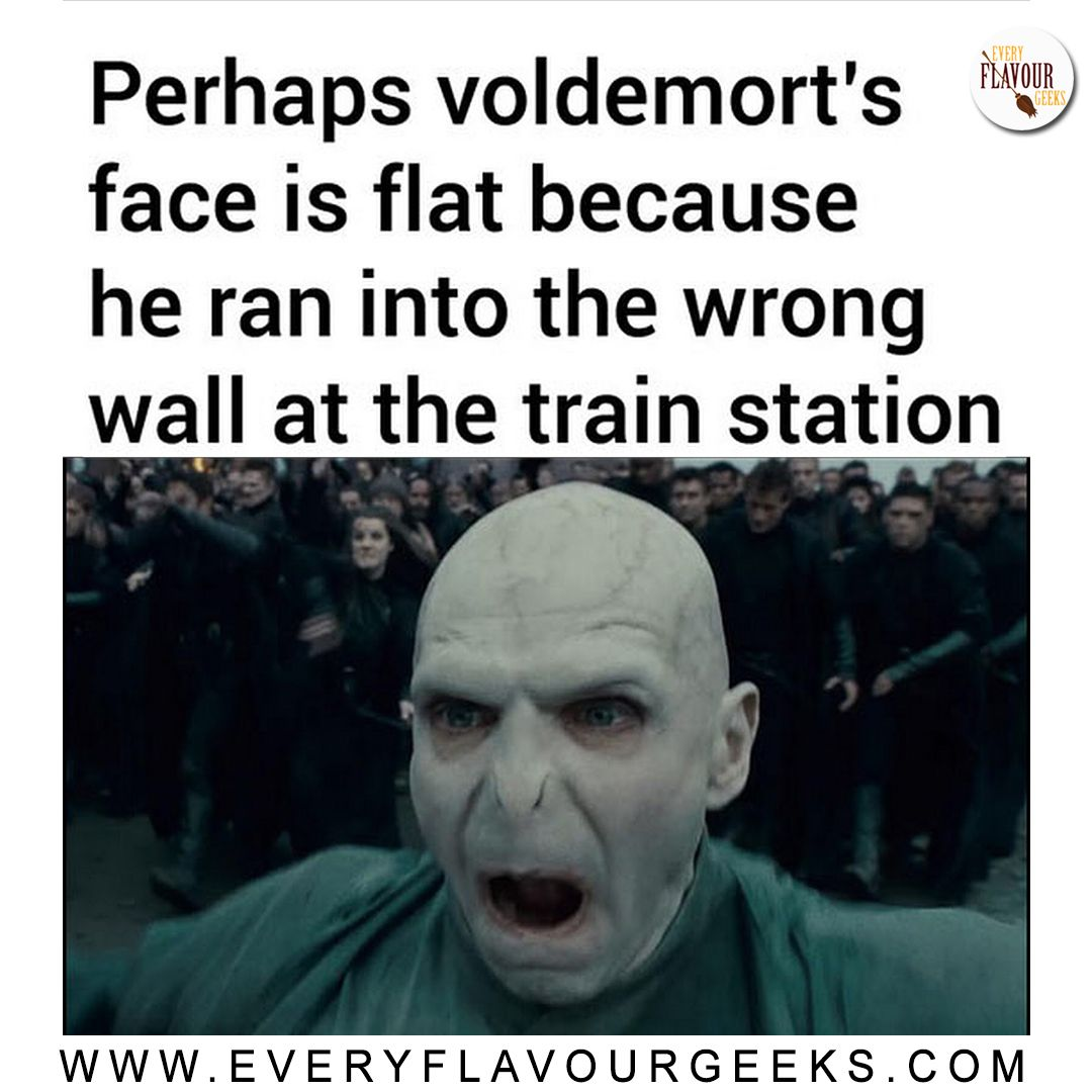 Be Careful Wizards Voldy Tried To Run Through Wrong Wall And Broke His Nose Harry Potter Memes Hilarious Harry Potter Funny Harry Potter Memes