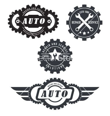 Auto Repair Logos Vector 3724993 Jpg 380 400 With Images