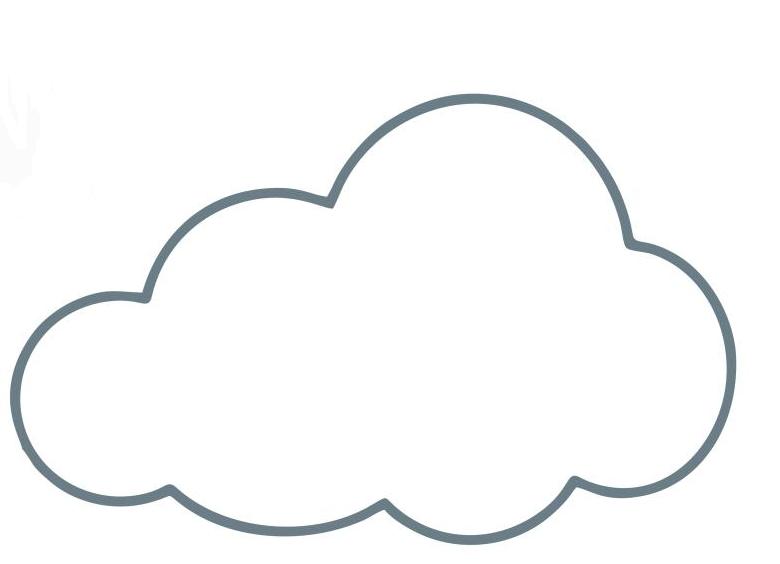 Armario Planejado Banheiro ~ molde nuvem desenho png (780 u00d7564) Moldes artesanato Pinterest Desenho de bal u00e3o, Balões e