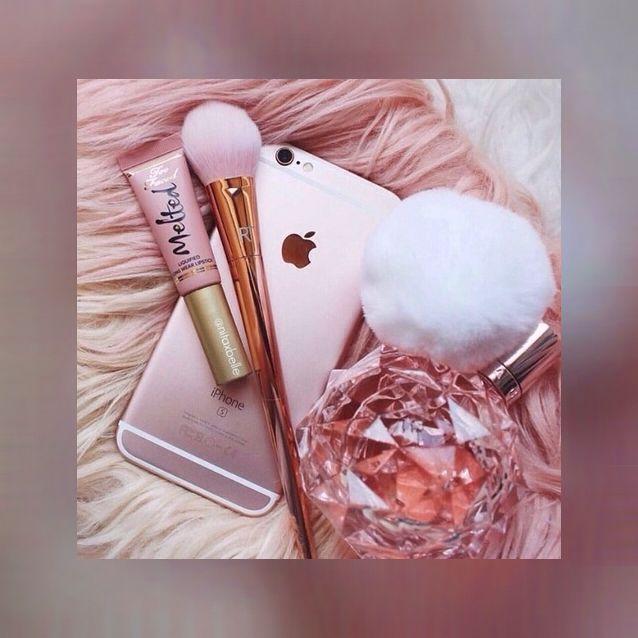 make up iphone ari by ariana grande parfum wallpaper