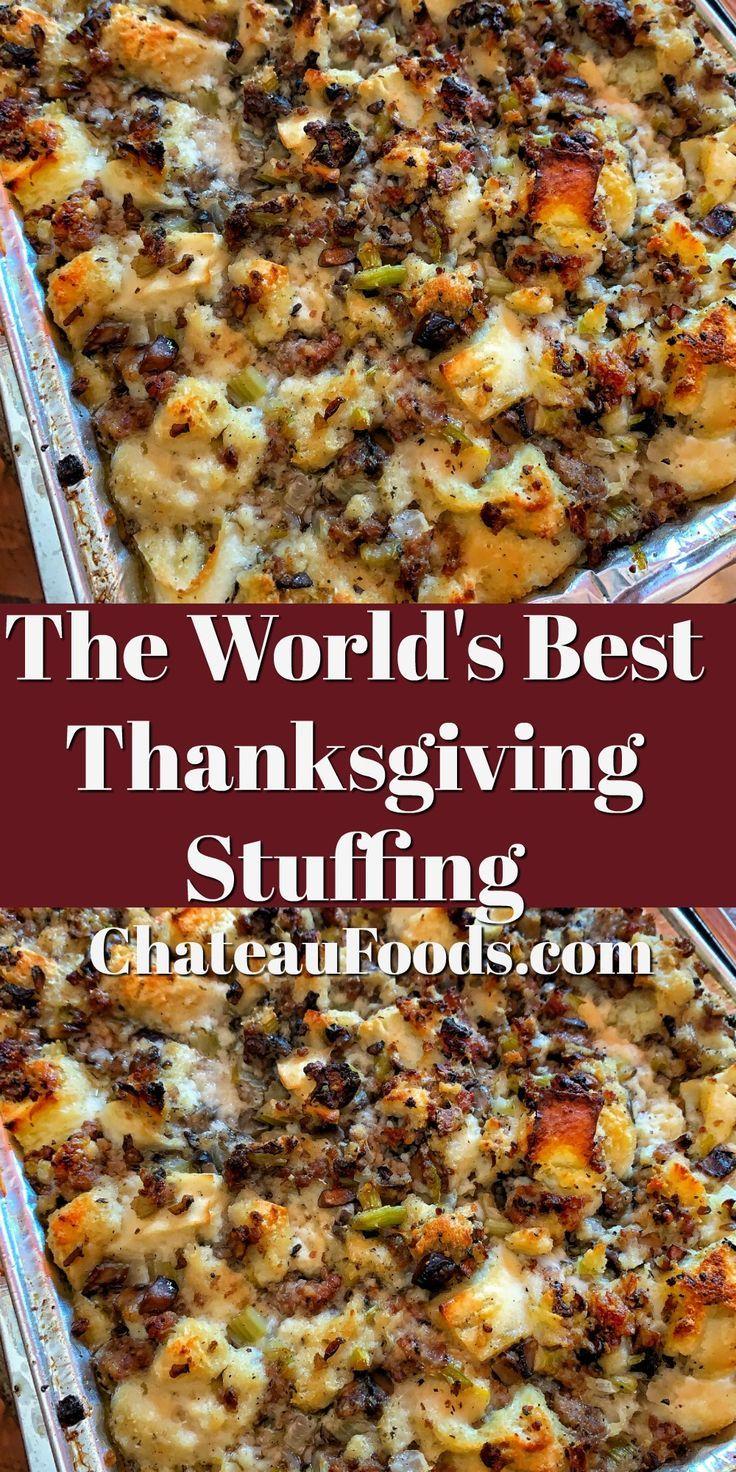 World's Best Stuffing - Chateau Dumplings - Creato