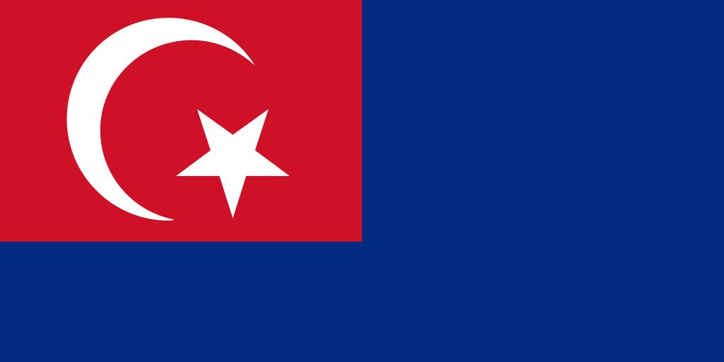 Johor Flag Right Or Left Wall Johor Flag Fabric Flags