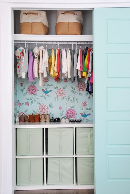 How to Create a Pretty and Functional Kids Closet on a budget Diy