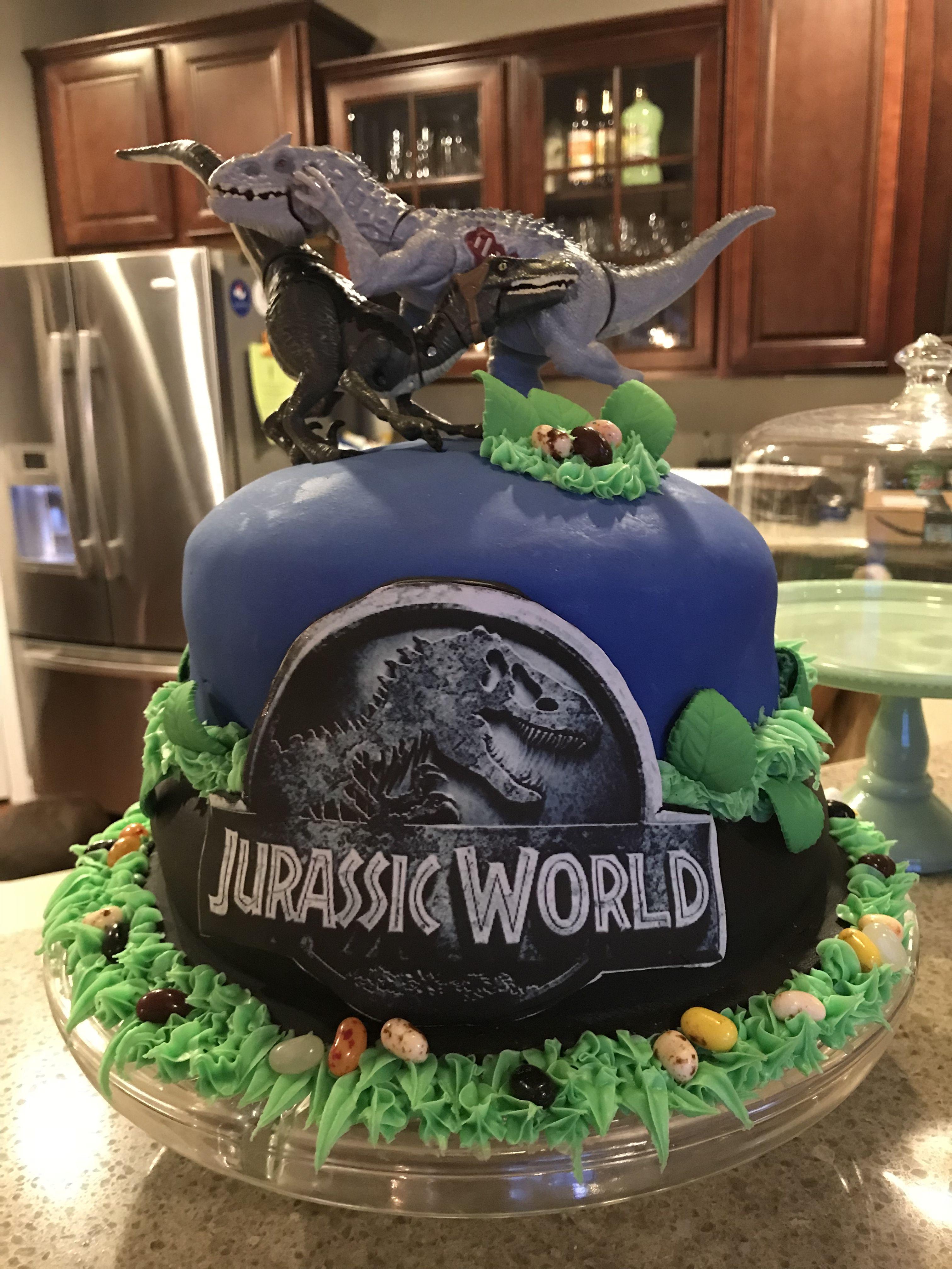 Jurassic World Birthday Cake Dinosaur Birthday Cakes Jurassic