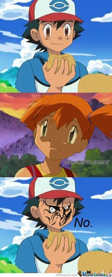 Pokemon Memes Ash And Misty With Images Pokemon Memes Pokemon
