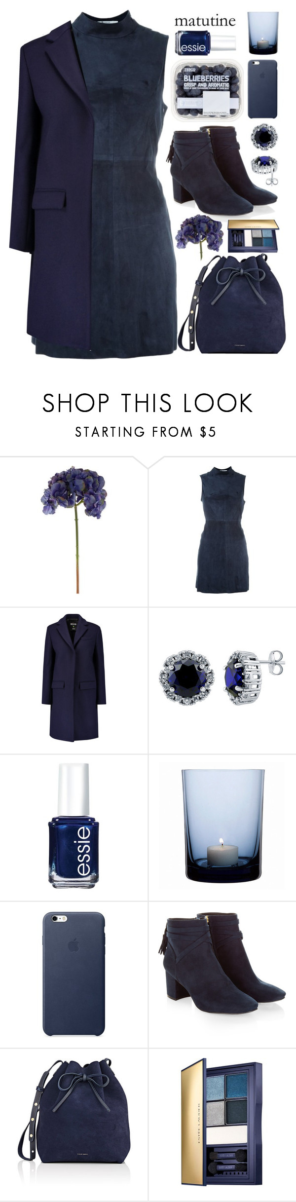 """""""Matutine, from head to toe"""" by jaeim ❤ liked on Polyvore featuring Sia, T By Alexander Wang, MSGM, BERRICLE, Essie, By Nord, Monsoon, Mansur Gavriel, Estée Lauder and monochrome"""