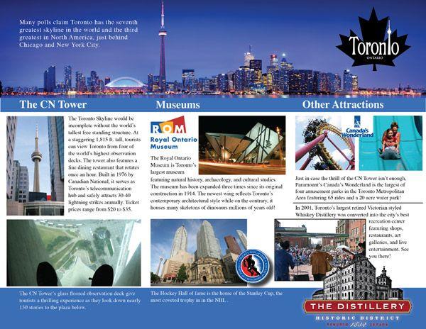 Travel Brochure Template editorial design Pinterest – Sample Travel Brochure