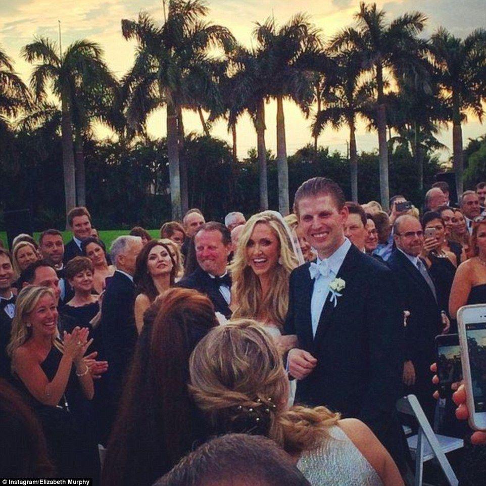Eric Trump Wedding Details And Photos