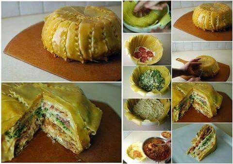 Lasagnekuchen