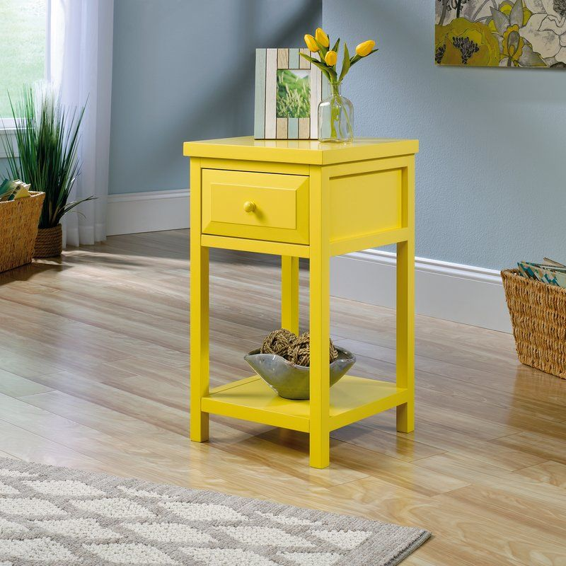maquoit end table with storage  living room furniture