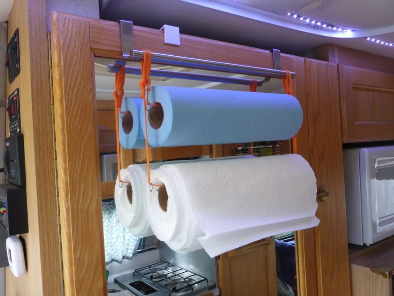 Keeping Things Where They Belong In Your RV   RV Lifestyle. Paper Towel  HoldersRv ...
