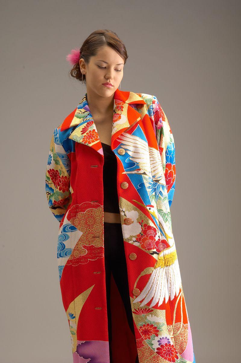 Anna Niponica Kimono Remake Dress Collection - Kimono coat/jacket
