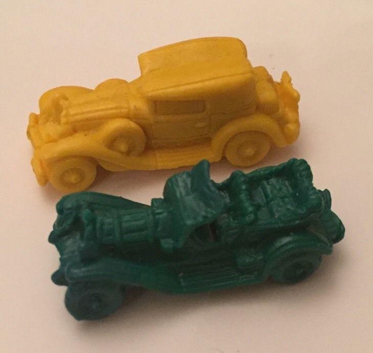 2 Vintage Rubber Eraser Pencil Toppers Old Cars | eBay | Other ...