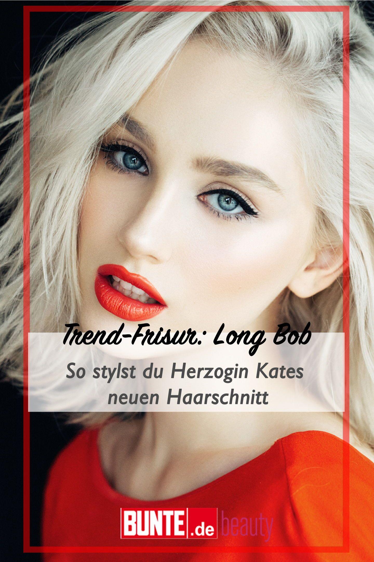 Trend Frisur Long Bob So Stylst Du Herzogin Kates Neuen Haarschnitt In 2020 Neue Haarschnitte Haare Frisuren