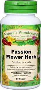 Passionflower Capsules 475 Mg 60 Veg Capsules Passiflora Incarnata Herbalism Herbal Supplements Turmeric Root