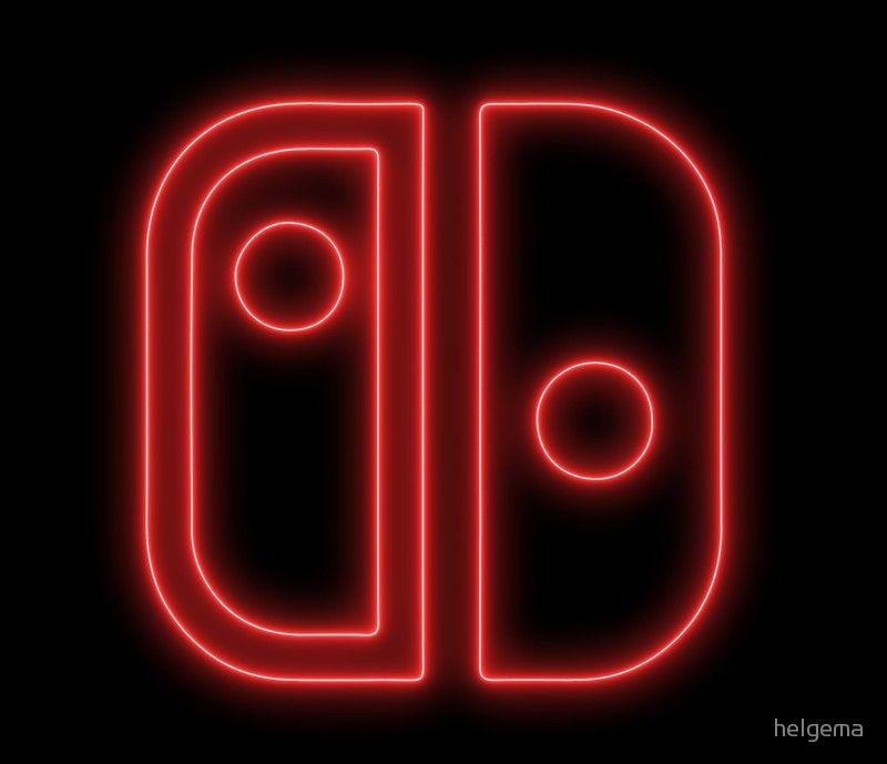 Nintendo switch neon like logo Nintendo switch, Neon