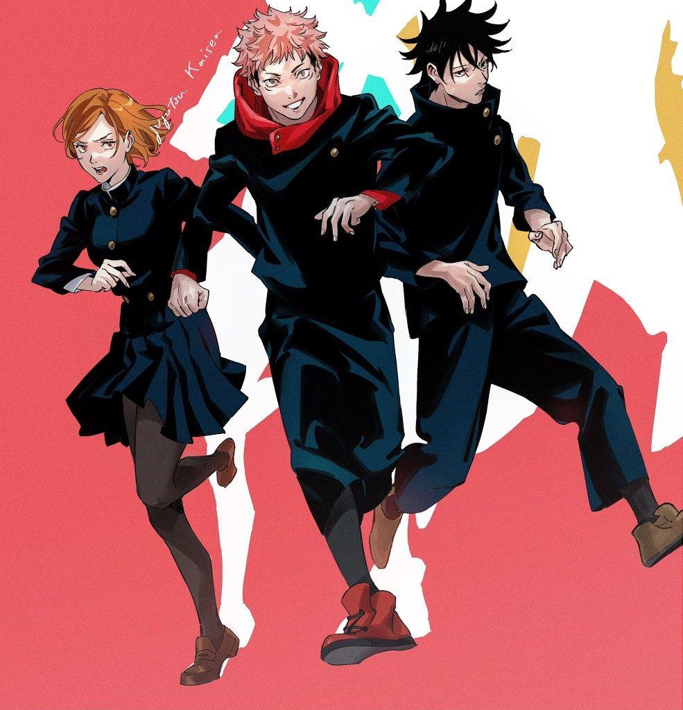 Jujutsu Kaisen Jujutsu Anime List Of Anime Shows