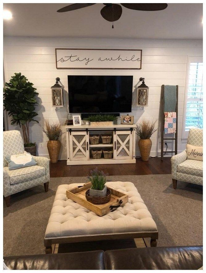 52 best diy farmhouse tv stand design ideas and decor 37 images