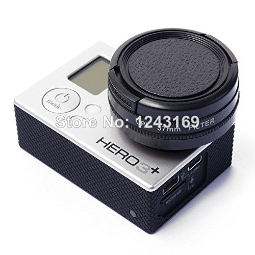 UltimaFio(TM) 37mm CPL Filter Cap Adapter XCsource Cleaning Cloth For Gopro Hero3 3  LF324 ** Click image for more details.
