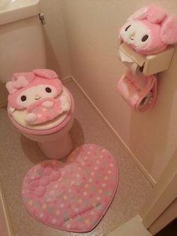 My Melody Bathroom My Melodyy Pinterest Juegos De Bano Juego